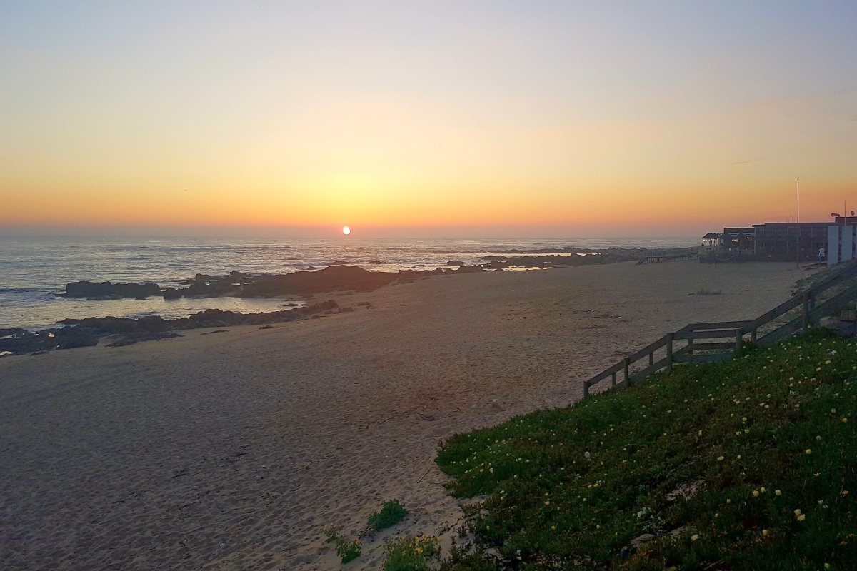 Playa de Angeiras, Lavra, Matosinhos, Oporto